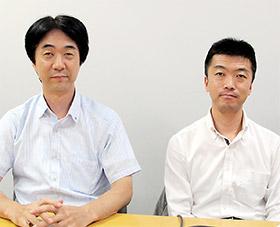 左から松本氏、紙谷氏