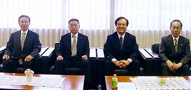 左から小糸氏、藤垣氏、木野氏、山本氏