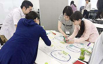 東京大学との共同研究の一環として実施したワークショップ