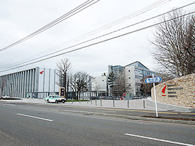 会場となる北海道薬大・手稲前田キャンパス