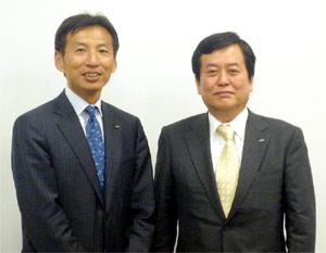 山田氏(左)と吉野氏