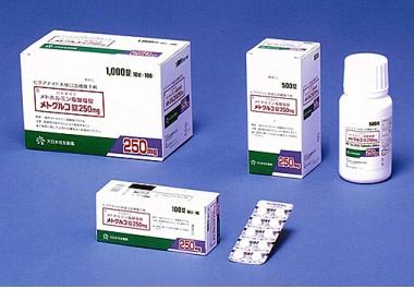 ビグアナイド系経口血糖降下剤「メトグルコ錠250mg」