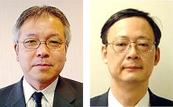 阿曽沼慎司氏(左)と間杉純氏