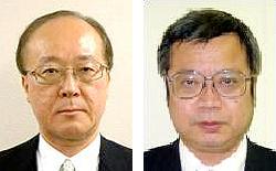 大谷泰夫氏(左)と外山千也氏