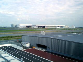 羽田空港にある治験薬専用保管施設