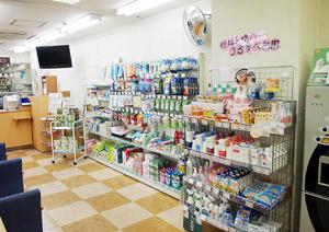 OTC、健食、衛生材料やコスメと多様な住民のニーズに対応