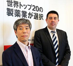 左から團野氏、櫻井氏