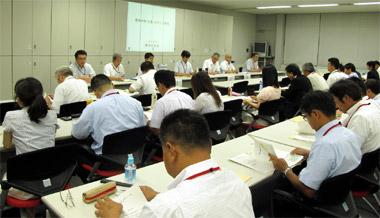 20日にさいたま市で開かれた関東ブロック会議