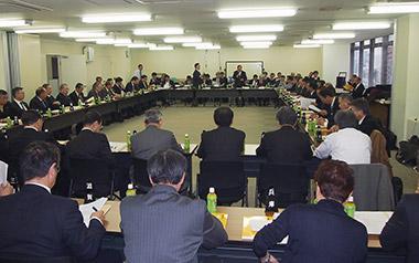 課題を議論した都道府県会長協議会