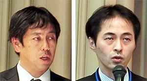 豊見氏(右)と伊東氏