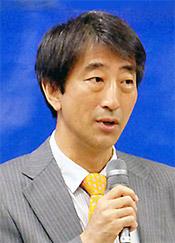 代表理事・渡辺賢治氏(慶應義塾大学教授)