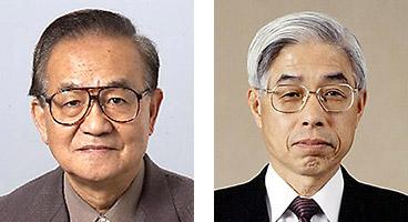左から鈴木良雄氏、佐野氏