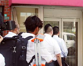 改正薬事法施行前にも販売店の立ち入り調査を実施した(大阪府)