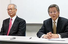 G&G吉田社長(右)と佐川会長