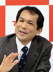 ITヘルスケアプロジェクトリーダー・濱崎洋一郎氏