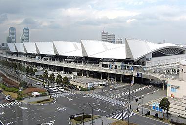 会場となるパシフィコ横浜