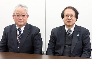 左から木平氏、佐藤氏
