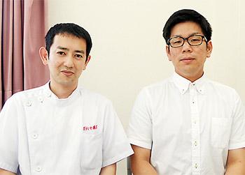 尾崎氏(左)と井上氏