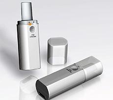 ポータブル呼気CO濃度測定器一体型治療アプリ