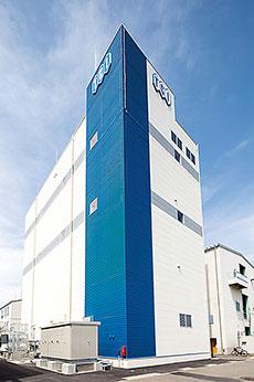 竣工したGMP治験用原薬・中間体・原薬新工場