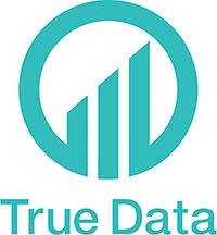 新社名「True Data」のロゴ