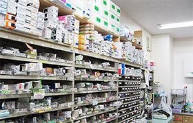 1800品目の医薬品を揃える