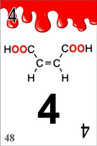 作成した化学構造式カード