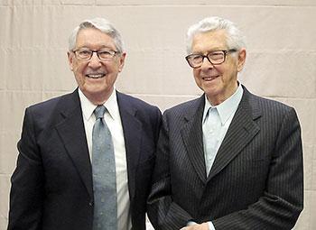 クーパー博士(左)とミラー博士