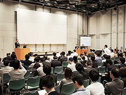 岡山市で開いた学術講演会で概要を提示し、意見を募った