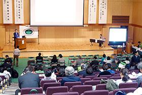 東京有明医療大学で開かれた第51回学術総会