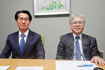 左から小暮誠二氏、田邊裕和氏