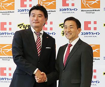 松本清雄氏(左)と塚本厚志氏