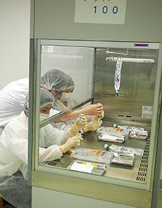 無菌調剤を体験