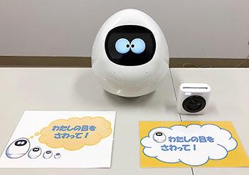 たまご型ロボット「タピア」
