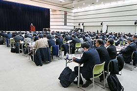 6日に開かれた全国衛生主管部局長会議