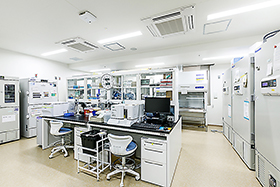 2階生体試料処理室