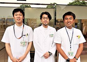 (左から)渡邉氏、満生氏、三井所氏
