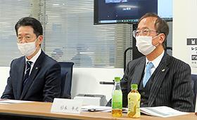 首藤正一氏(左)と杉本年光氏