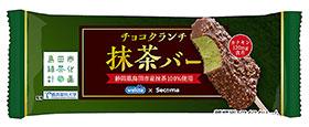 チョコクランチ抹茶バーアイス