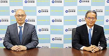 中井氏(左)、前川氏